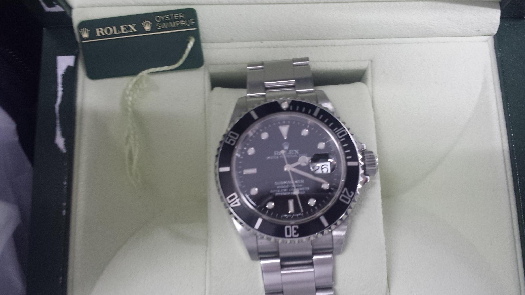 ブランド「ロレックス」商品名「サブマリーナー」型番「16610」カラー「ブラック」