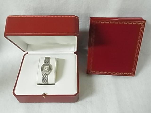 カルティエ(Cartier)L3000347ハッピーバースデーライン 二つ折り財布 ベタ剥がれ