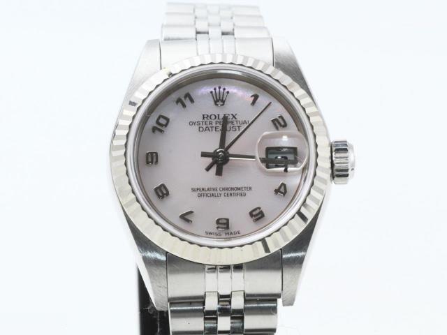 ブランド「ロレックス」商品名「デイトジャスト」型番「79174」カラー「ピンク」