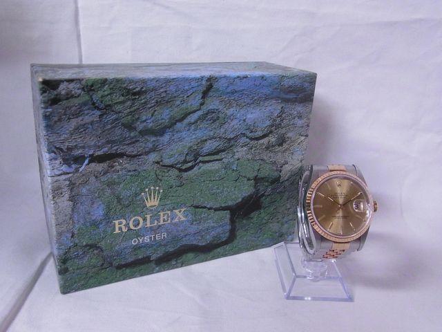 ブランド「ロレックス」商品名「デイトジャスト」型番「16233」カラー「シャンパン」
