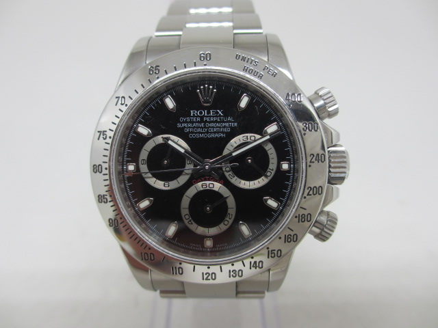 ブランド「ロレックス」商品名「デイトナ」型番「116520」カラー「ブラック」
