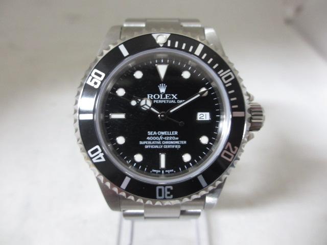 ブランド「ロレックス」商品名「シードゥエラー」型番「16600」カラー「ブラック」