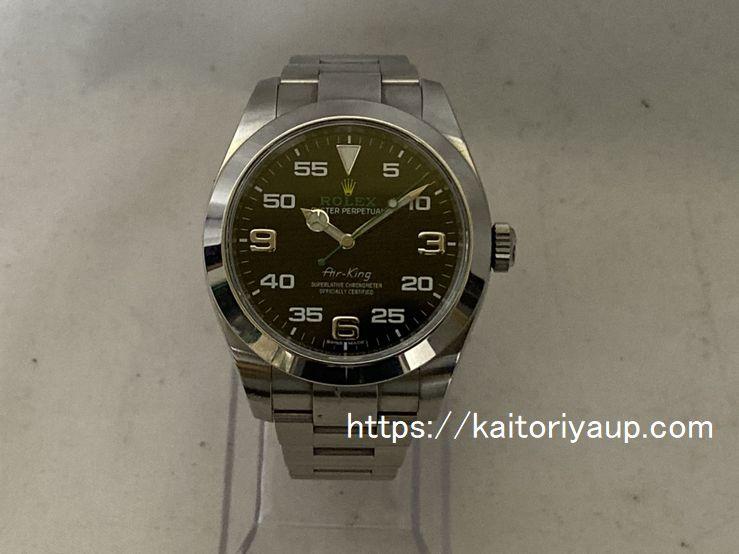 ブランド「ロレックス」商品名「エアキング」型番「116900」カラー「ブラック」