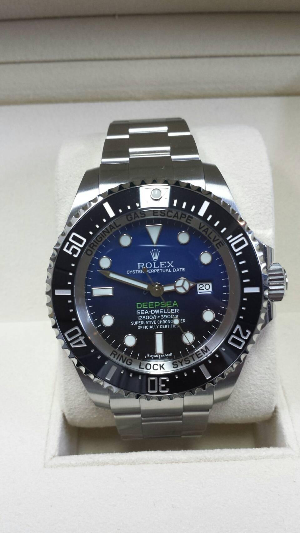 ブランド「ロレックス」商品名「シードゥエラー」型番「116660」カラー「ブルー」