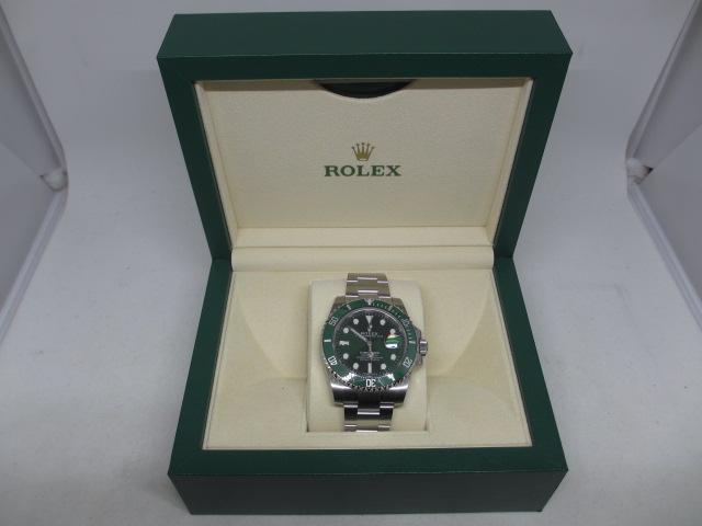 ロレックス116610グリーンサブマリーナー
