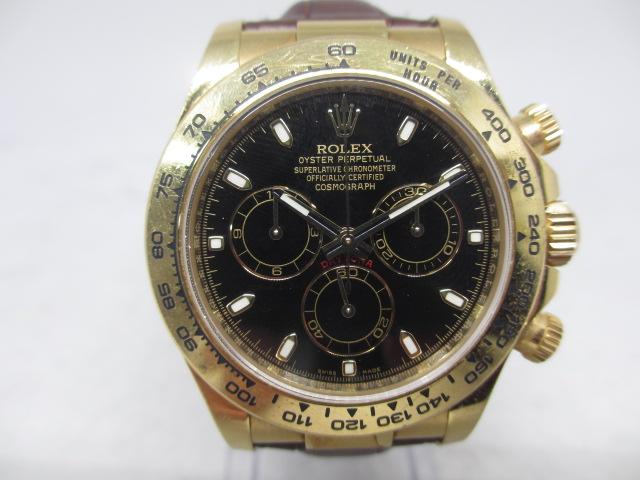 ブランド「ロレックス」商品名「デイトナ」型番「116518」カラー「ブラック」