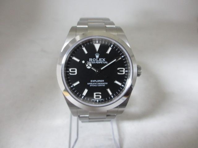 ブランド「ロレックス」商品名「エクスプローラーⅠブラックアウト」型番「14270」カラー「ブラック」