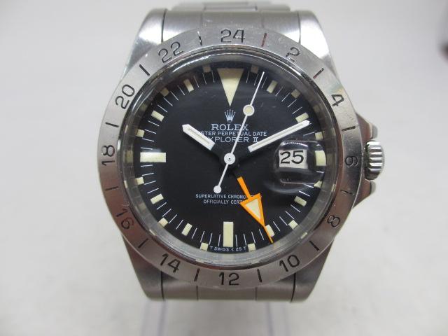 ブランド「ロレックス」商品名「エクスプローラーⅡ」型番「1655」カラー「ブラック」