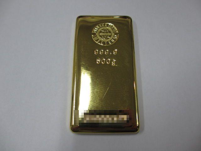 田中貴金属インゴット金塊500g