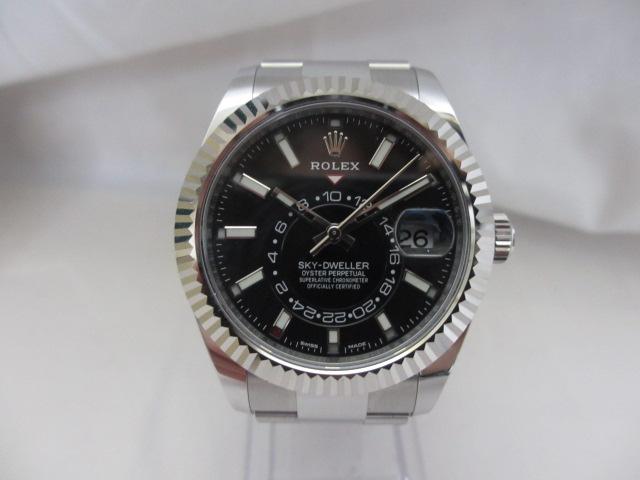 ブランド「ロレックス」商品名「スカイドゥエラー」型番「326934」カラー「ブラック」