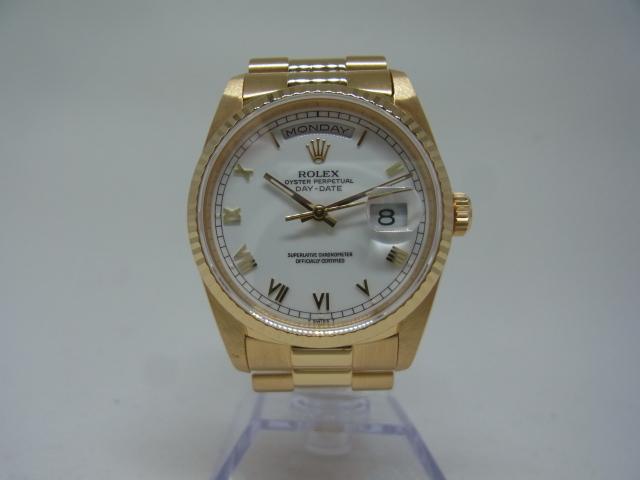 ブランド「ロレックス」商品名「デイデイト」型番「18238」カラー「ホワイト」