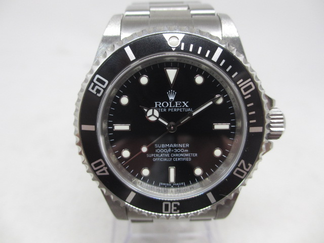 ブランド「ロレックス」商品名「サブマリーナー」型番「14060M」カラー「ブラック」