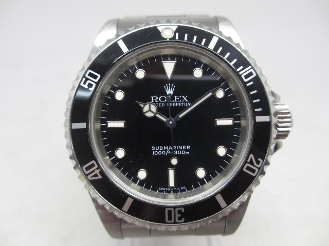 ブランド「ロレックス」商品名「サブマリーナー」型番「14060」カラー「ブラック」