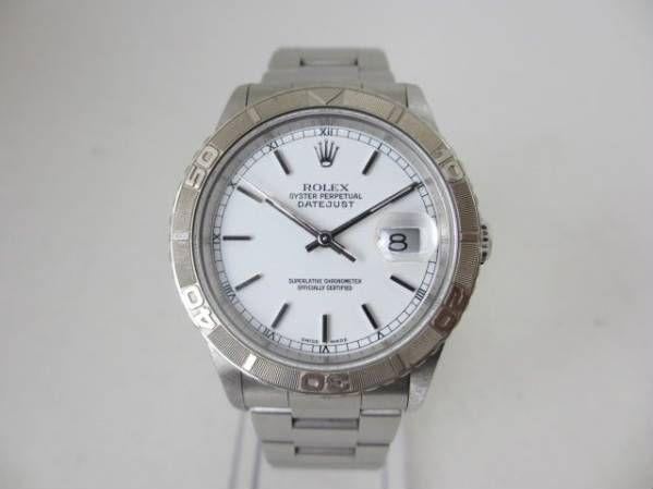 ブランド「ロレックス」商品名「デイトジャスト(サンダーバード)」型番「16264」カラー「ホワイト」