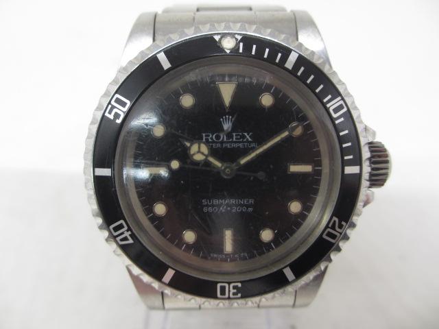 ブランド「ロレックス」商品名「サブマリーナー フチ有」型番「5513」カラー「ブラック」
