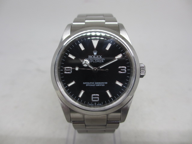 ブランド「ロレックス」商品名「エクスプローラーⅠ」型番「114270」カラー「ブラック」