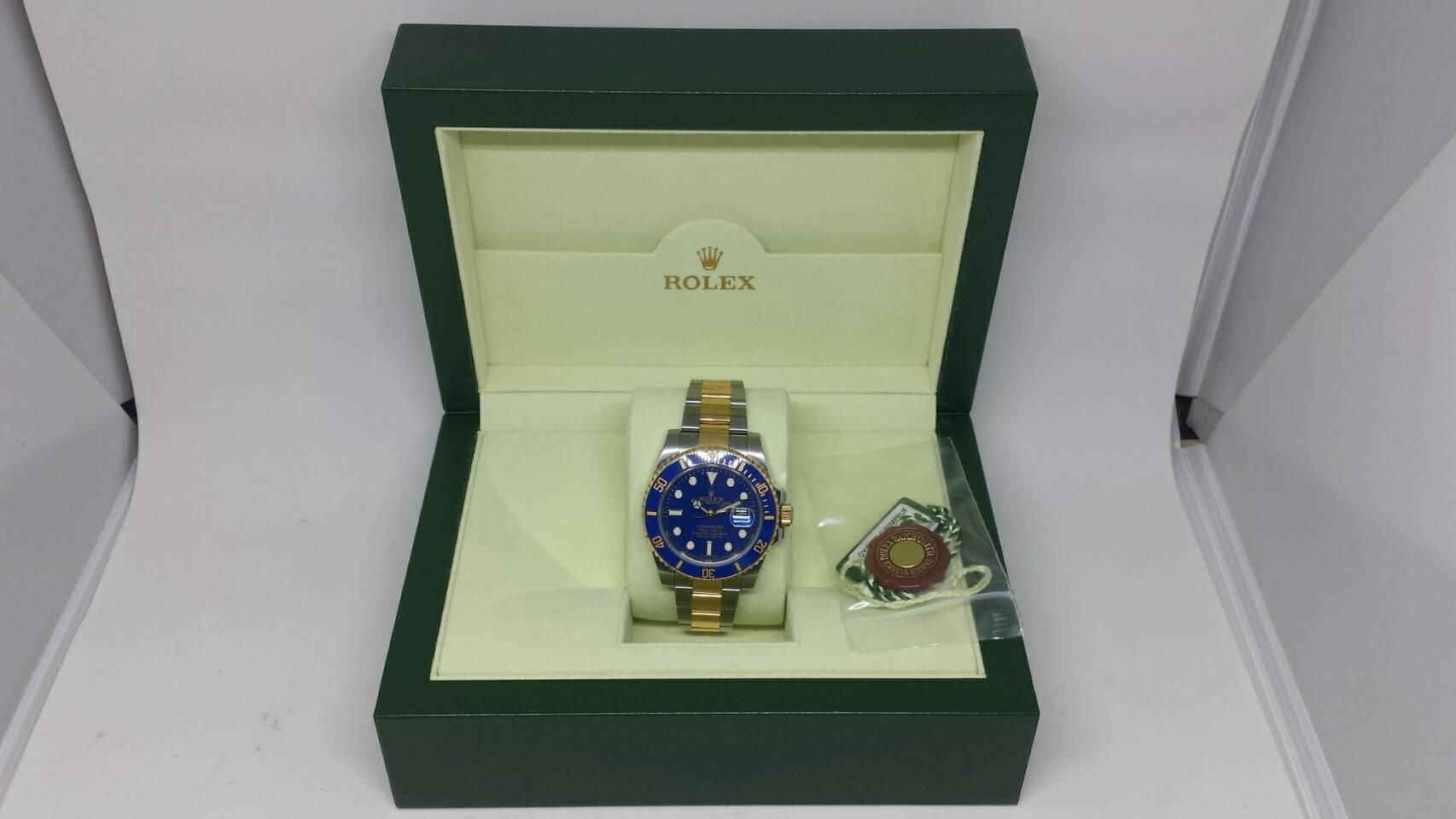 ブランド「ロレックス」商品名「サブマリーナ」型番「116613LB」カラー「ブルー」