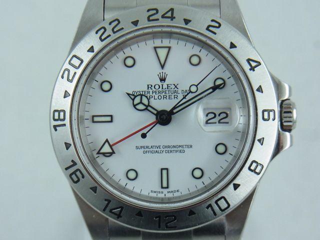 ブランド「ロレックス」商品名「エクスプローラーⅡ」型番「16570」カラー「ホワイト」