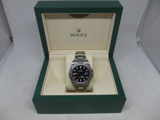 ブランド「ロレックス」商品名「エクスプローラーⅡ」型番「216570」カラー「ブラック」