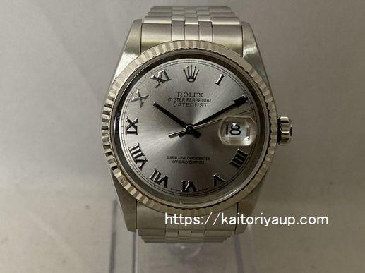 ブランド「ロレックス」商品名「デイトジャスト」型番「16234」カラー「シルバー」