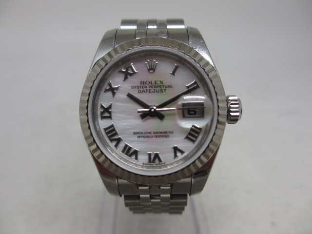 ブランド「ロレックス」商品名「デイトジャスト」型番「179174NR」カラー「ピンク」