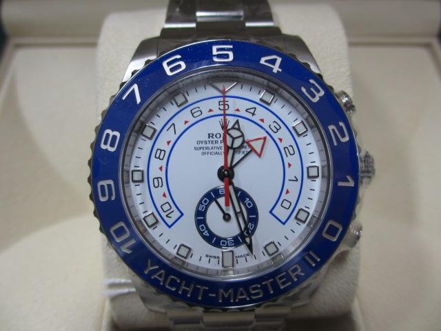 ブランド「ロレックス」商品名「ヨットマスターⅡ」型番「116680」カラー「ホワイト」