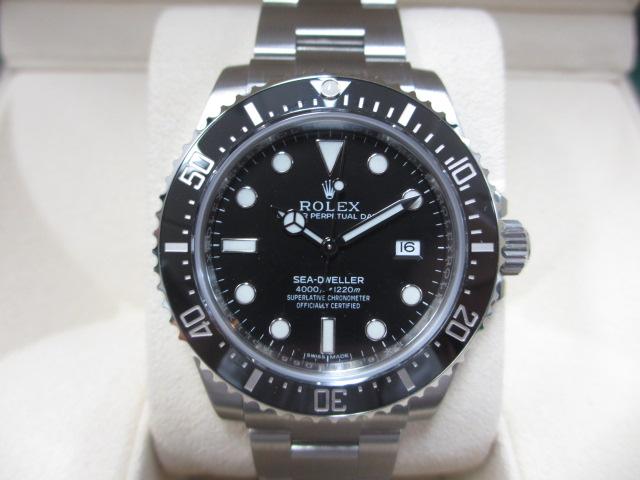 ブランド「ロレックス」商品名「シードゥエラー」型番「116600」カラー「ブラック」