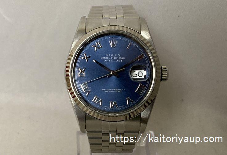 ブランド「ロレックス」商品名「デイトジャスト」型番「16234」カラー「ブルー」