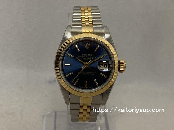 ブランド「ロレックス」商品名「デイトジャスト」型番「69173」カラー「ブルー」