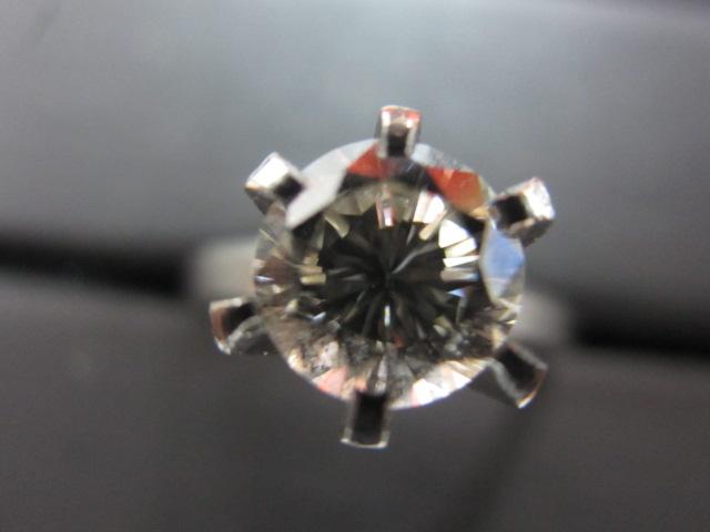 プラチナリング Pt900 指輪(立爪)ダイヤモンド1.20ct 鑑定書無し