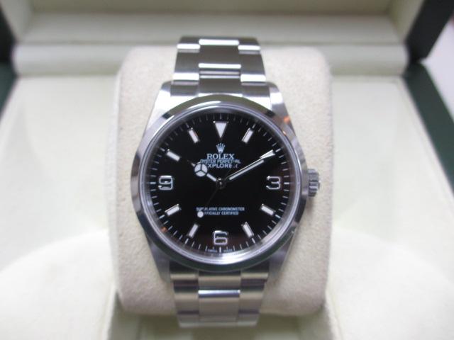 ブランド「ロレックス」商品名「エクスプローラーⅠ」型番「14270」カラー「ブラック」
