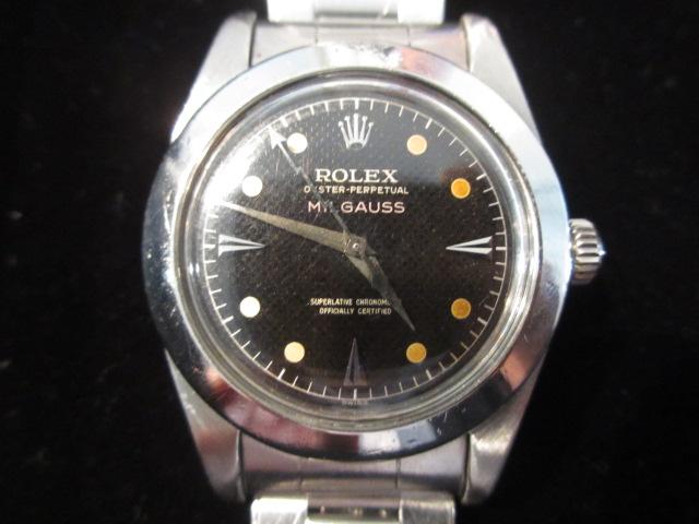 ロレックス 6541 ミルガウス ポリッシュベゼル