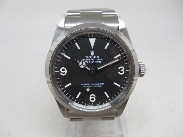 ブランド「ロレックス」商品名「エクスプローラーⅠ後期」型番「1016」カラー「ブラック」