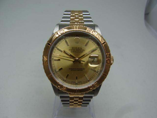 ブランド「ロレックス」商品名「デイトジャスト サンダーバード」型番「16253」カラー「ゴールド」