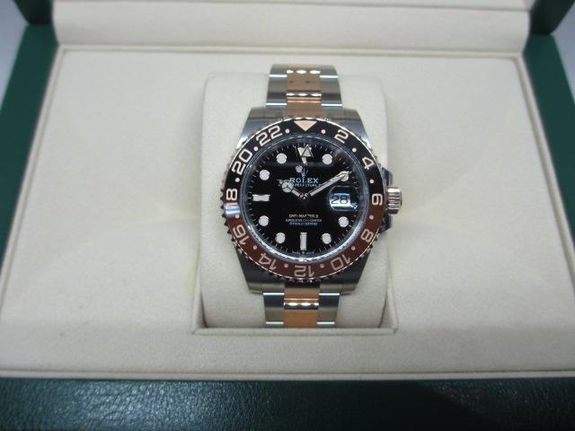 ブランド「ロレックス」商品名「GMTマスターⅡ」型番「126711CHNR」カラー「ブラック」