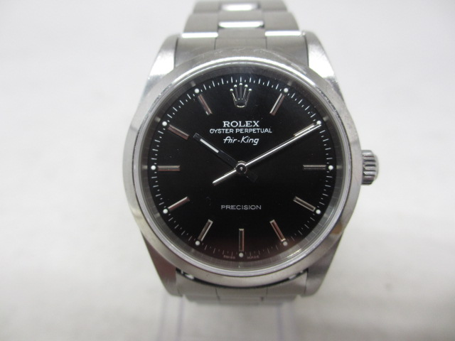 ブランド「ロレックス」商品名「エアキング」型番「14000M」カラー「ブラック」