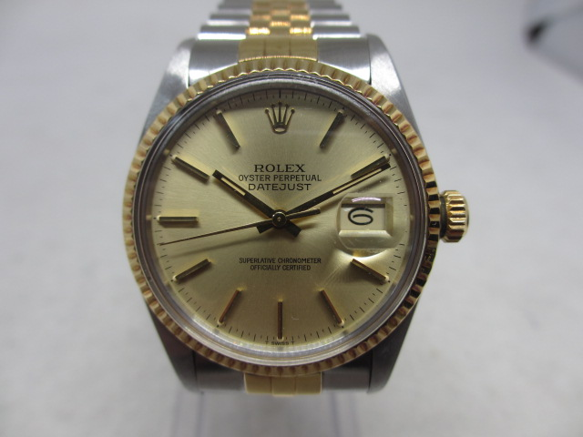 ブランド「ロレックス」商品名「デイトジャスト」型番「1601」カラー「ブラック」