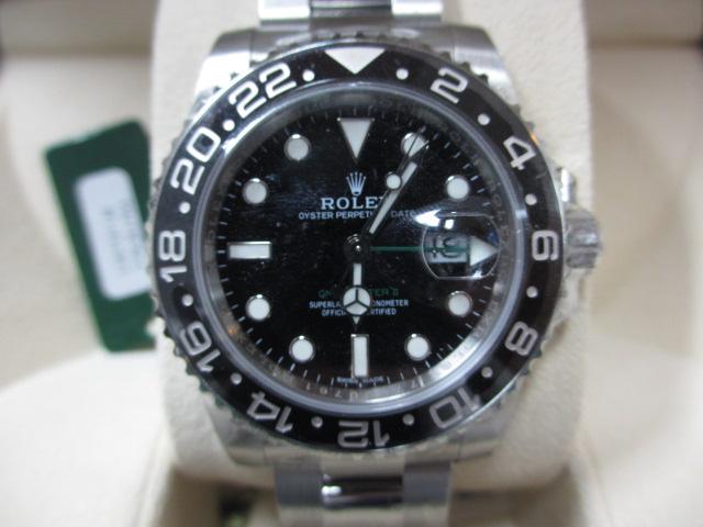 ブランド「ロレックス」商品名「GMTマスターⅡチャックイエガー」型番「16710」カラー「ブラック」