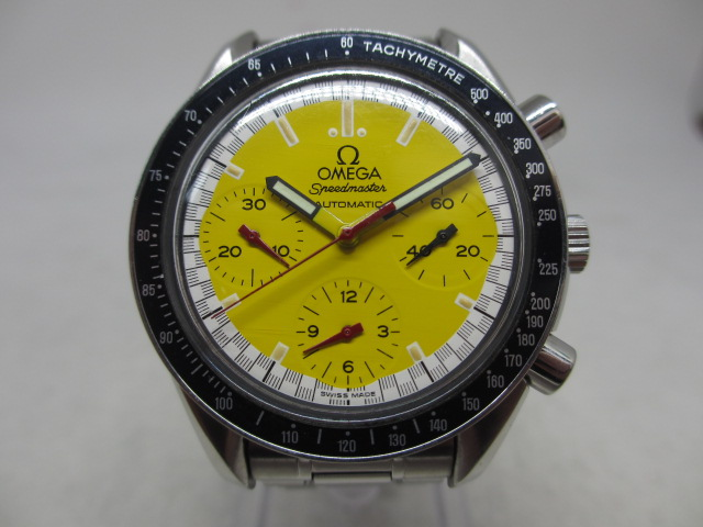 ブランド「オメガ」商品名「スピードマスター」型番「3510.12」カラー「イエロー」