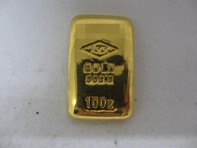 K24 アサヒプリテック 999.9 純金 インゴット 100g