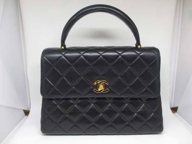 ブランド「シャネル」商品名「マトラッセ ハンドバッグ」カラー「ブラック」