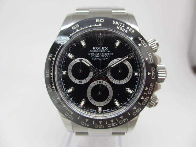 ブランド「ロレックス」商品名「デイトナ」型番「116500LN」カラー「ブラック」