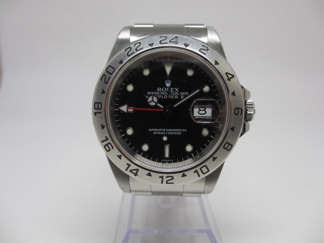 ロレックス[ROLEX]Ref.16713 GMTマスターⅡ ジュビリーブレス 黒 針不良