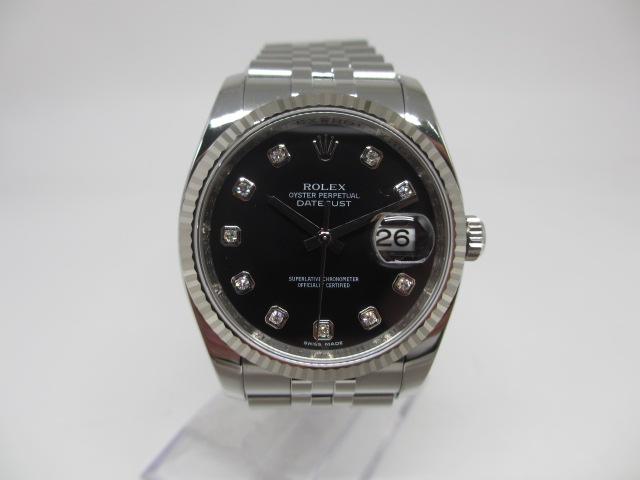 ブランド「ロレックス」商品名「デイトジャスト」型番「116234G」カラー「ブラック」