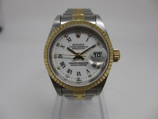 ロレックス(ROLEX)216570 エクスプローラーⅡ ルーレット ランダム番 黒