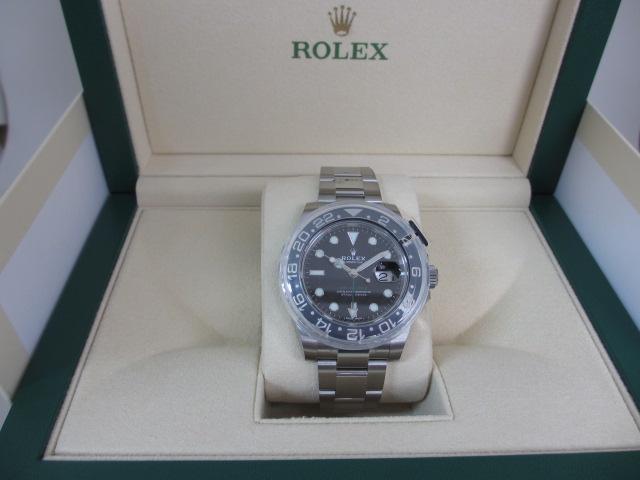 ロレックス 116710LN GMTマスターⅡ ランダム番 未使用品