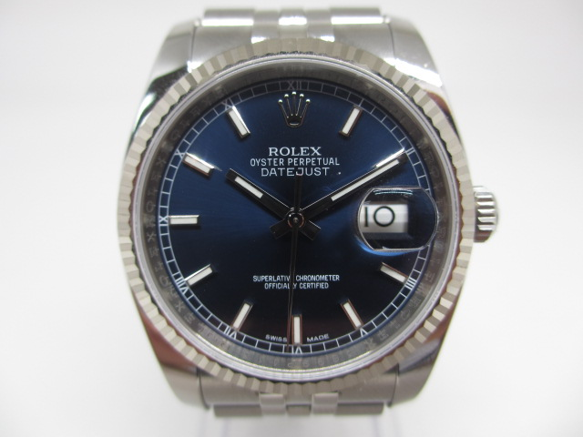 ロレックス[ROLEX]Ref.116234G デイトジャスト ブラック