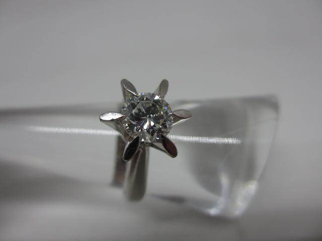 プラチナリング Pt900 ダイヤモンド1.00ct 鑑定書無し