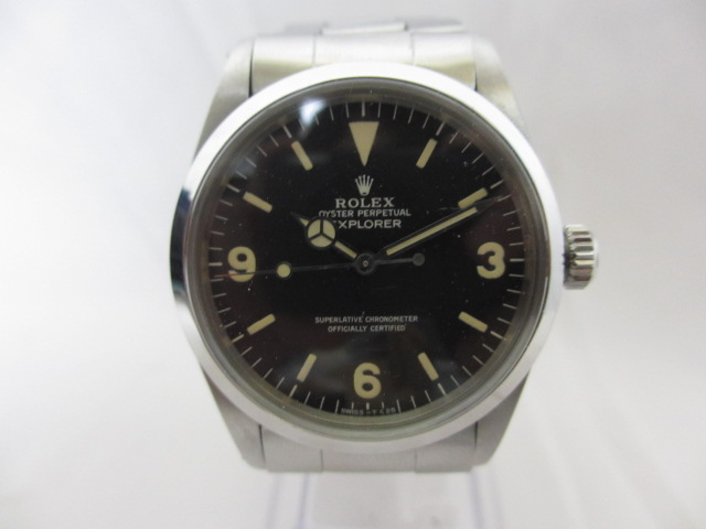 ブランド「ロレックス」商品名「エクスプローラーⅠ前期」型番「1016」カラー「ブラック」