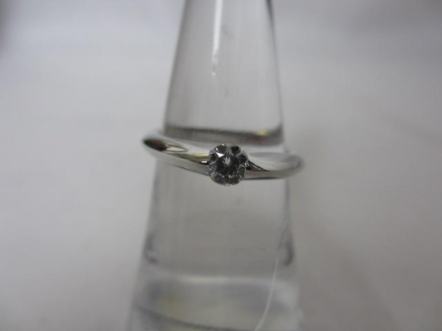 プラチナリング Pt950 インペリアルブリリアントカットダイヤモンド指輪0.25ct